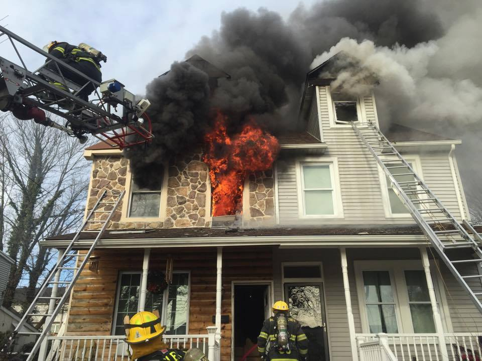 Two Alarm Fire in Nether Providence