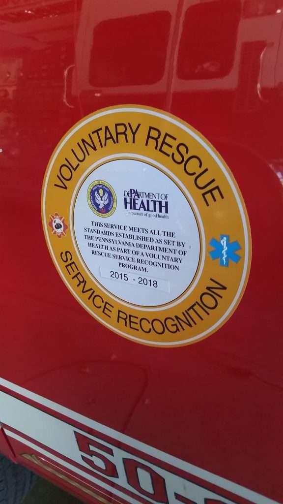 Rescue Service Recognition
