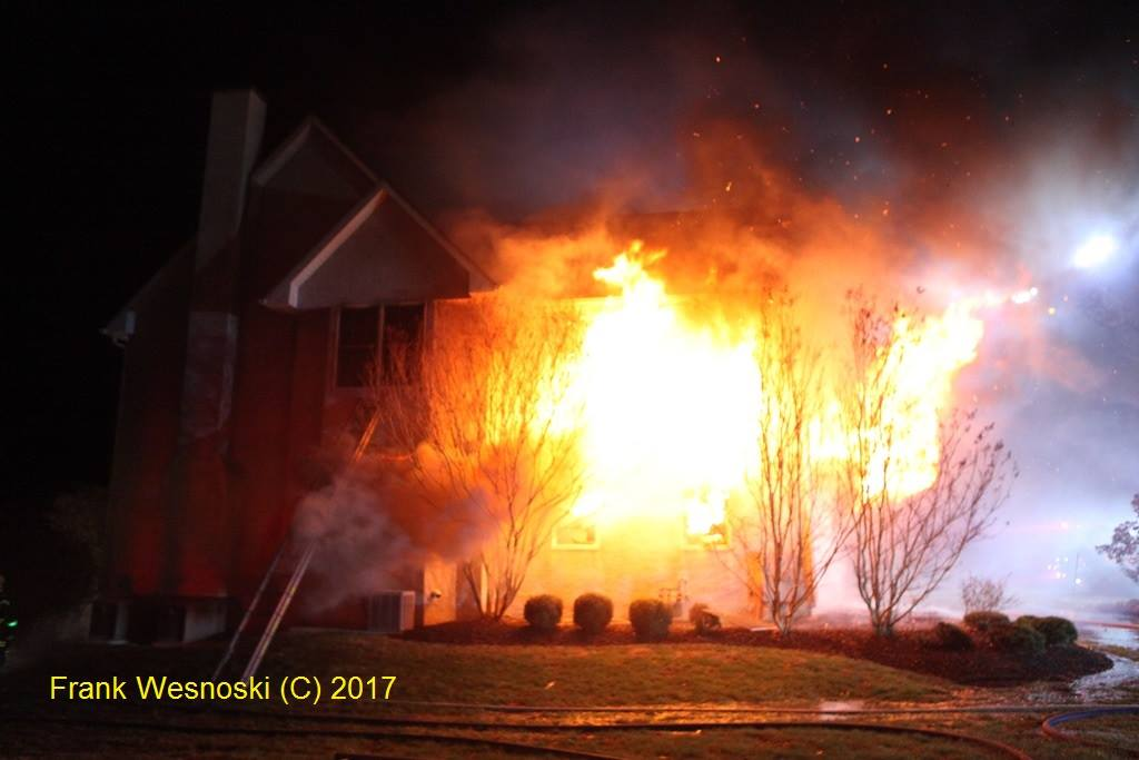 Working House Fire