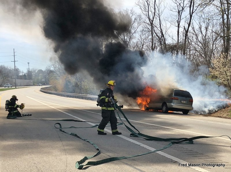 Vehicle Fire on US 1